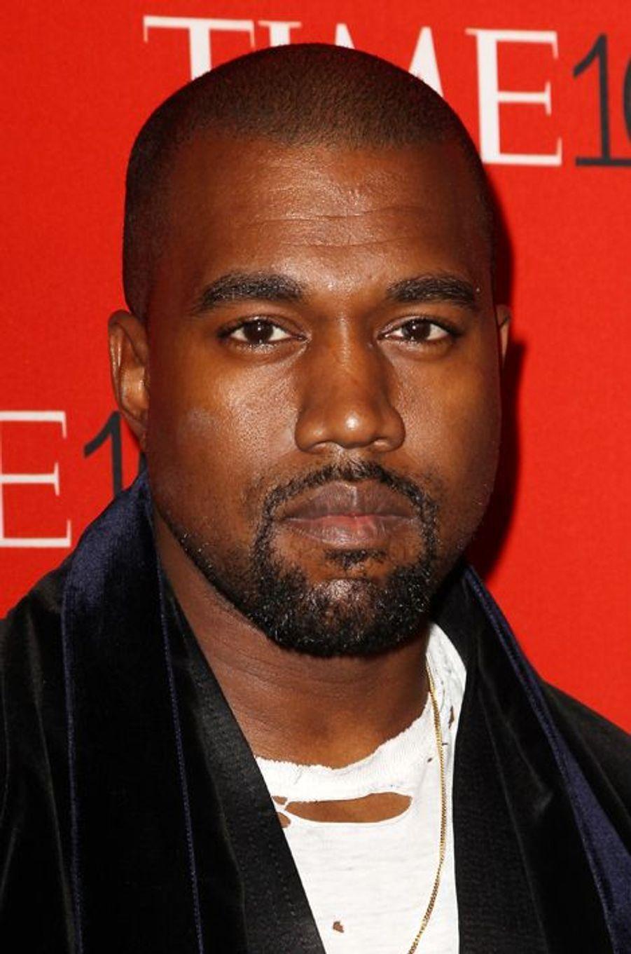 Kanye West à New York le 21 avril 2015