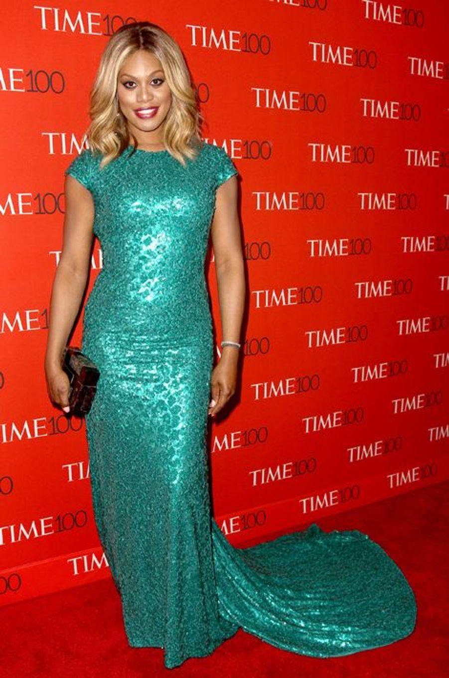 Laverne Cox à New York le 21 avril 2015