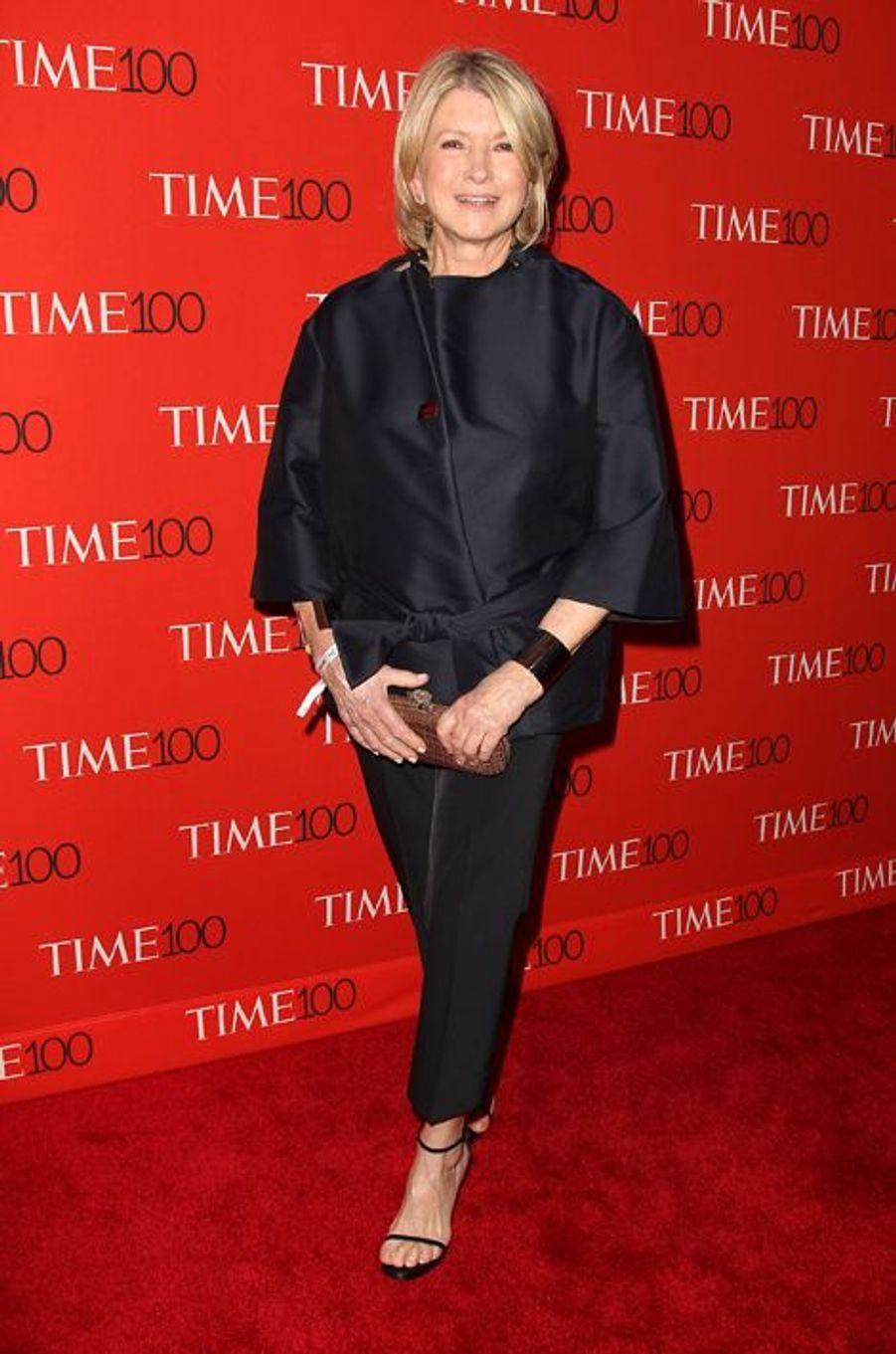 Martha Stewart à New York le 21 avril 2015