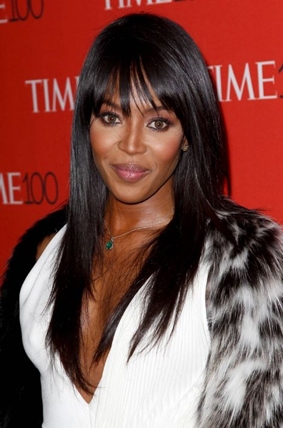Naomi Campbell à New York le 21 avril 2015