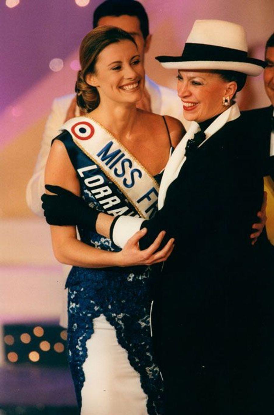 Avec Sophie Thalmann Miss France 1998 en 1997
