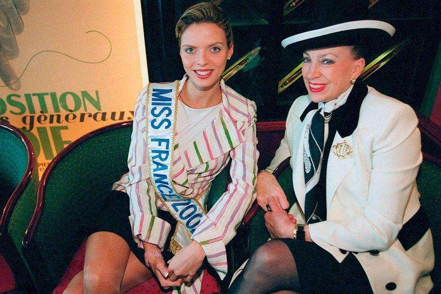 Avec Sylvie Tellier, Miss France 2002