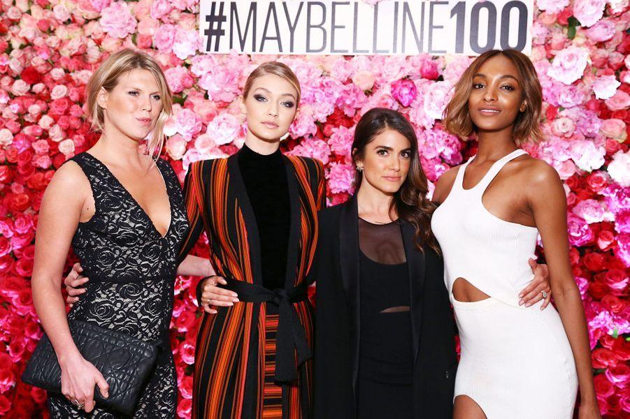 Alexandra Richards, Gigi Hadid, Nikki Reed et Jourdan Dunn à New York le 14 mai 2015