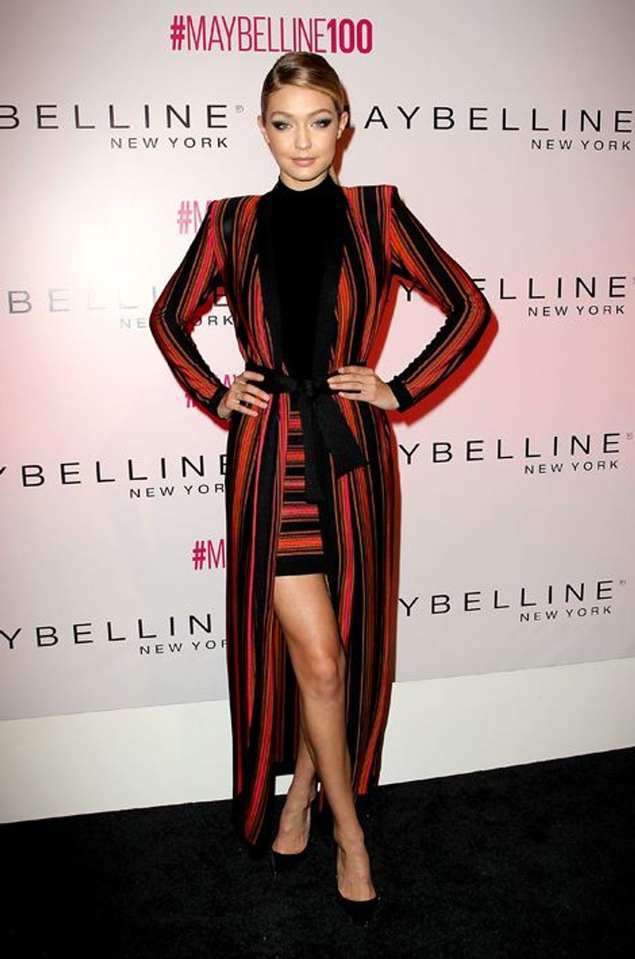 Gigi Hadid à New York le 14 mai 2015