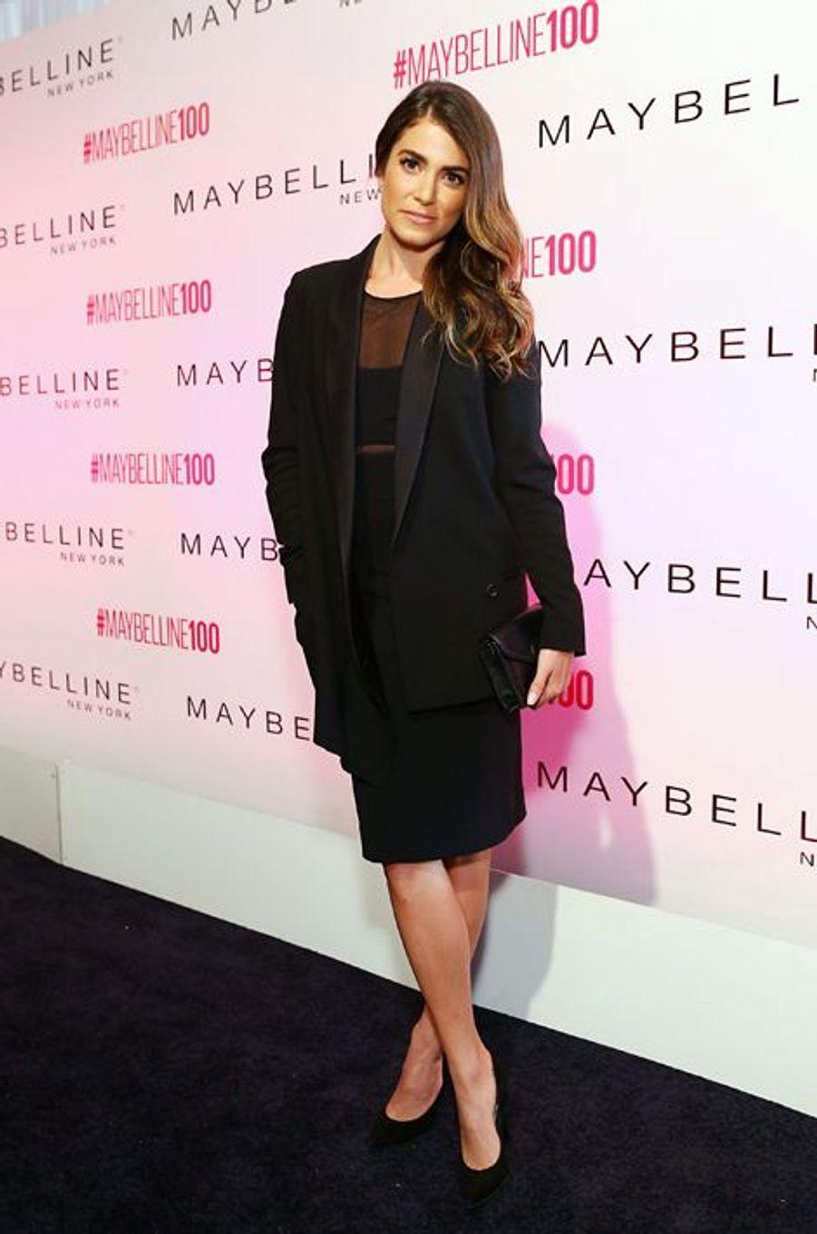 Nikki Reed à New York le 14 mai 2015