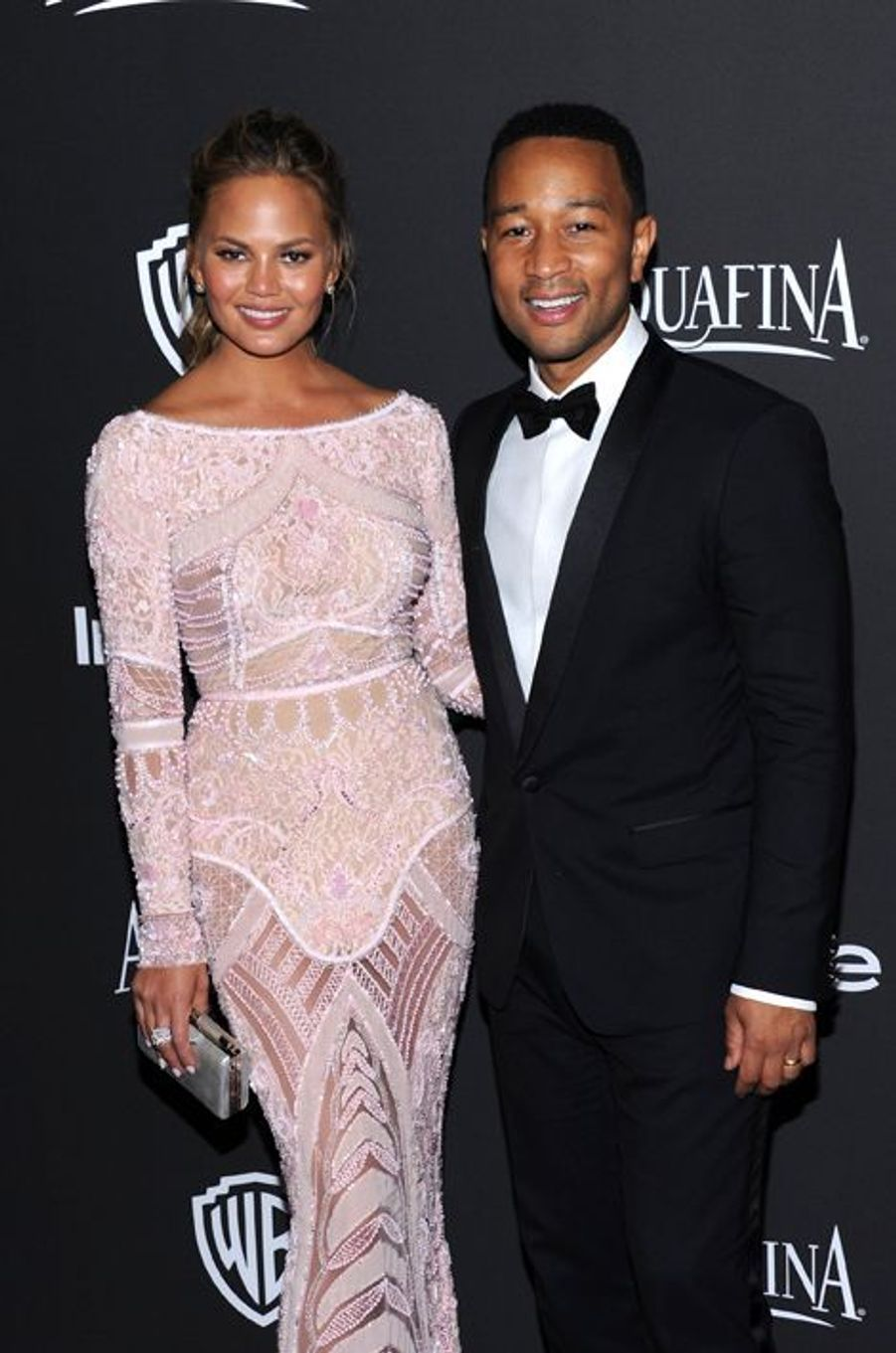 Chrissy Teigen et John Legend à Los Angeles le 11 janvier 2014