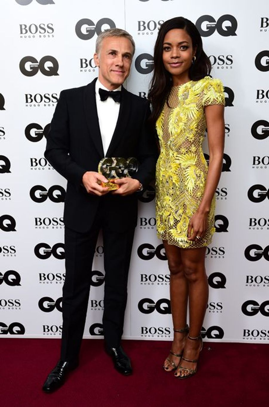 Christoph Waltz et Naomie Harris