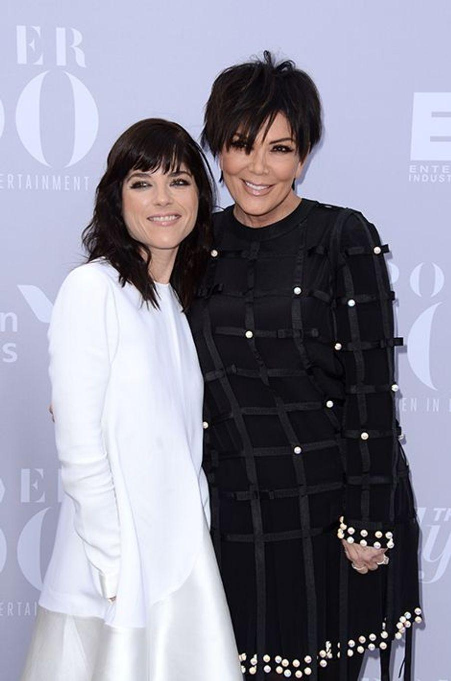 Selma Blair et Kris Jenner