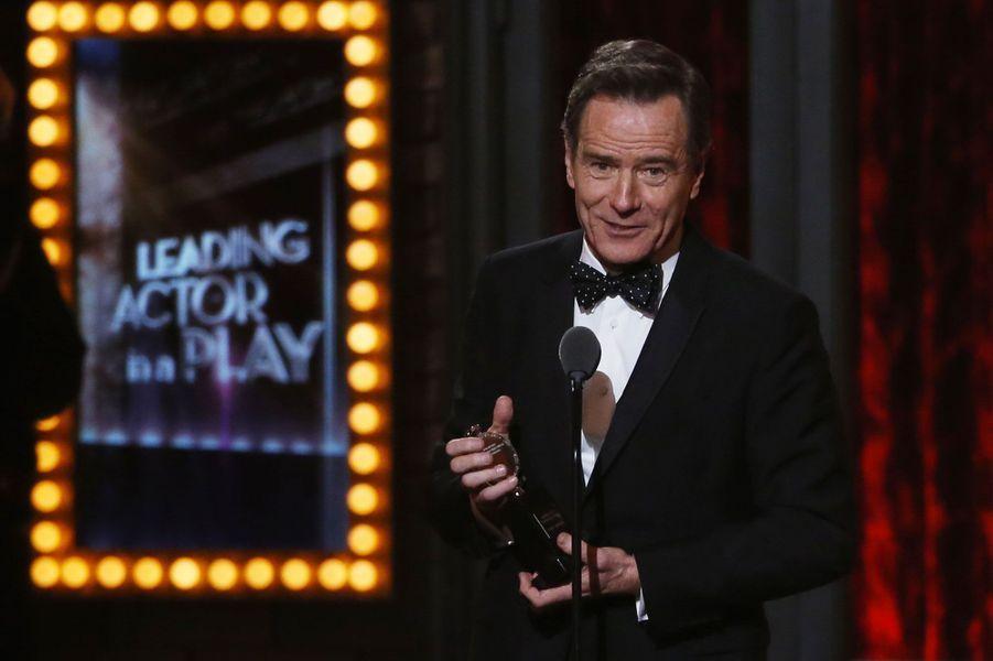 """Bryan Cranston, récompensé pour """"All The Way"""""""