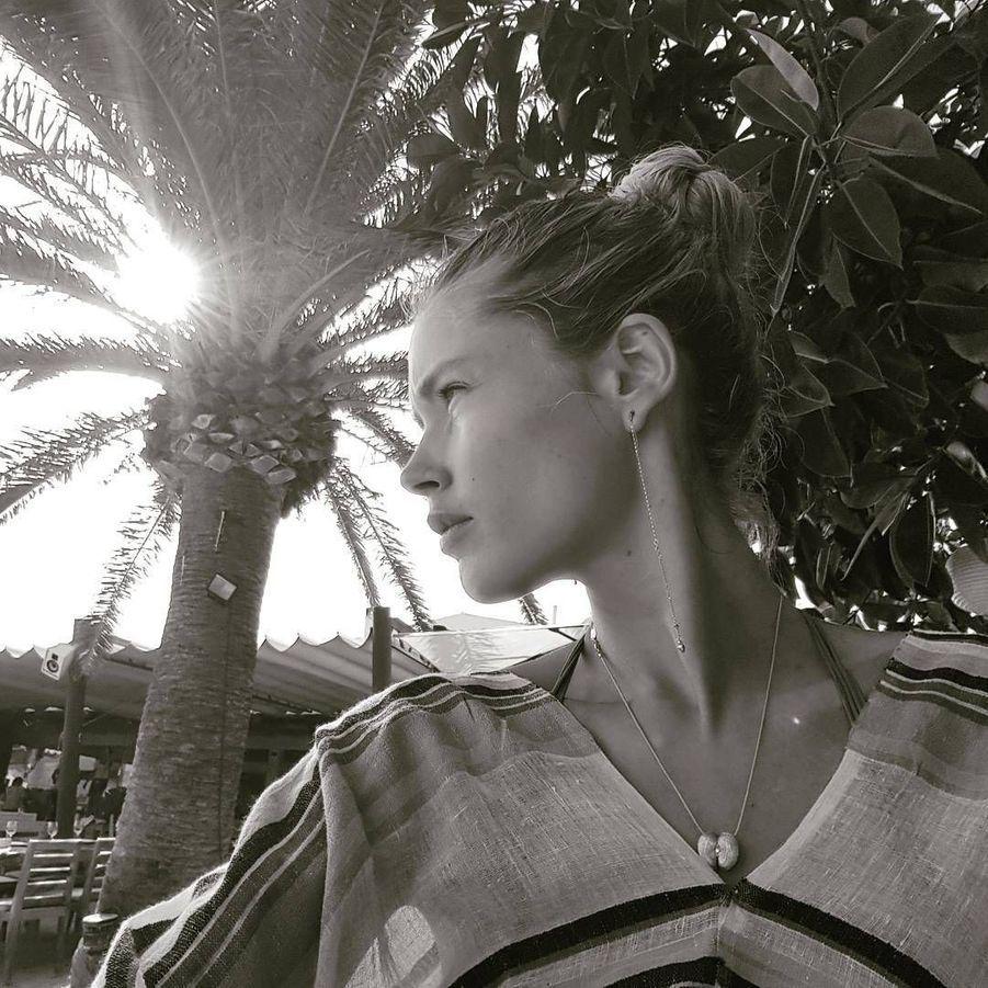 Le top néerlandais et ange Victoria's Secret Doutzen Kroes se trouvait sur l'île catalane il y a deux semaines.