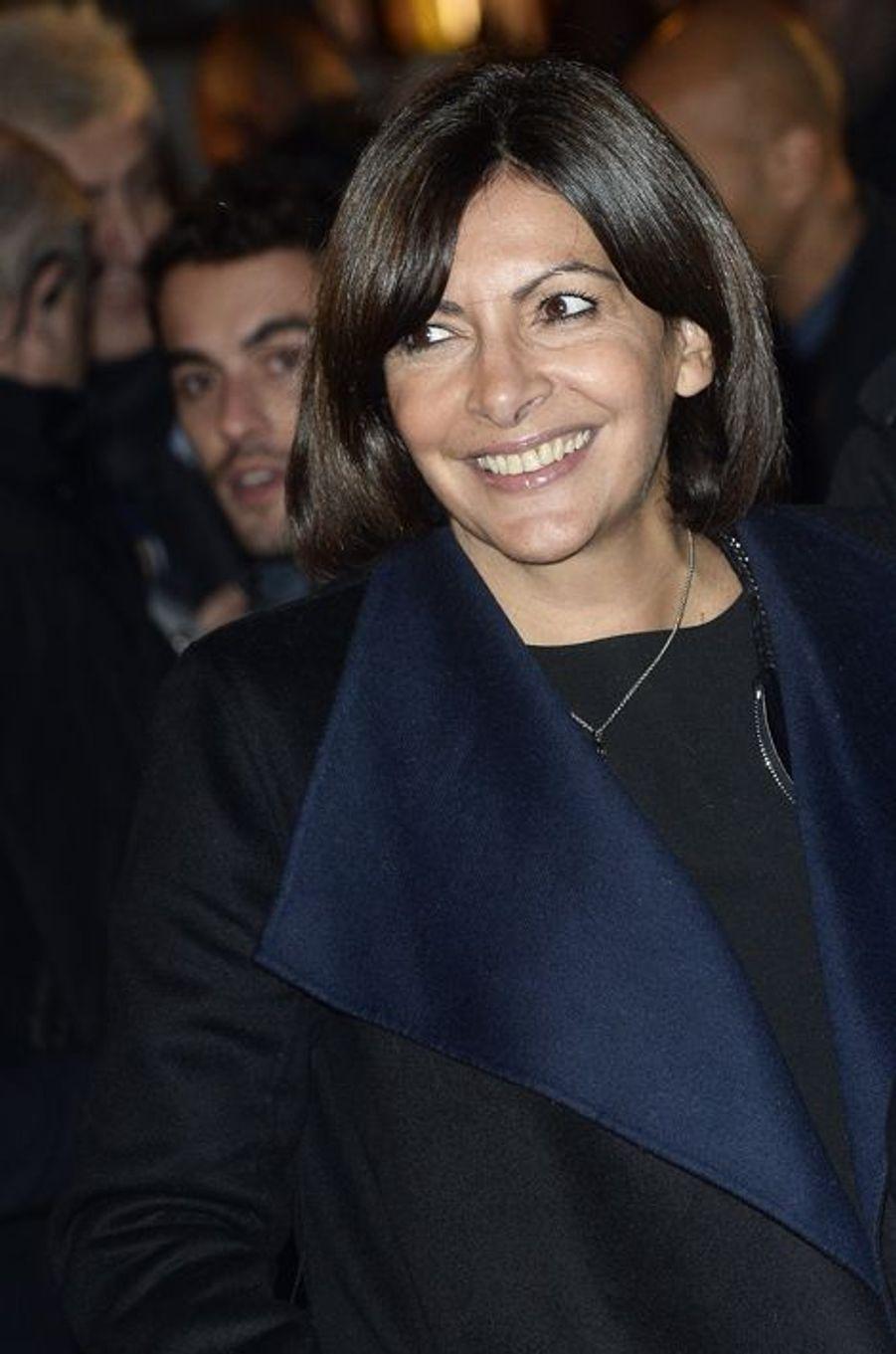 Anne Hidalgo à Paris le 20 novembre 2014
