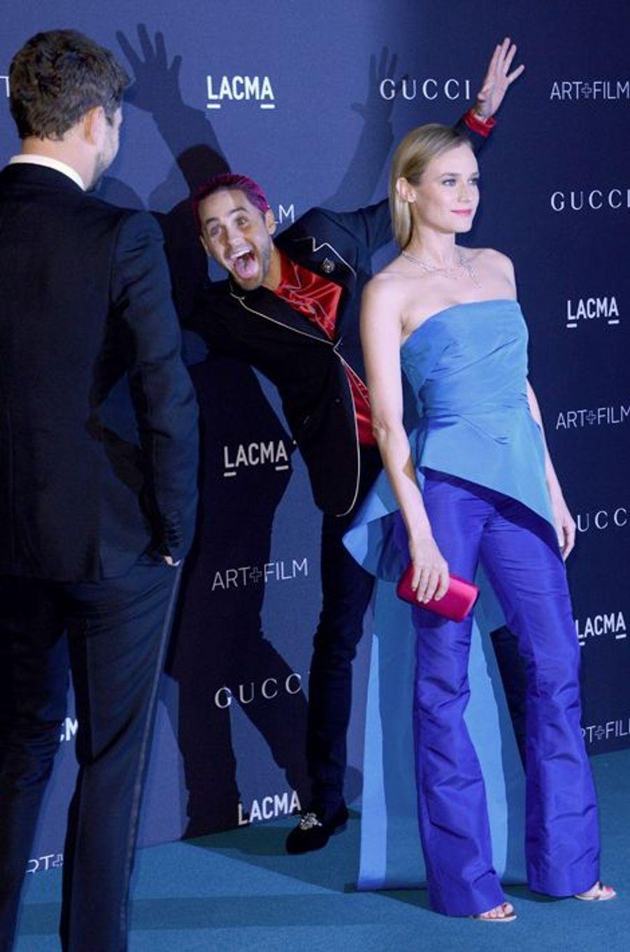Joshua Jackson et Diane Kruger, cible du photobombing de Jared Leto