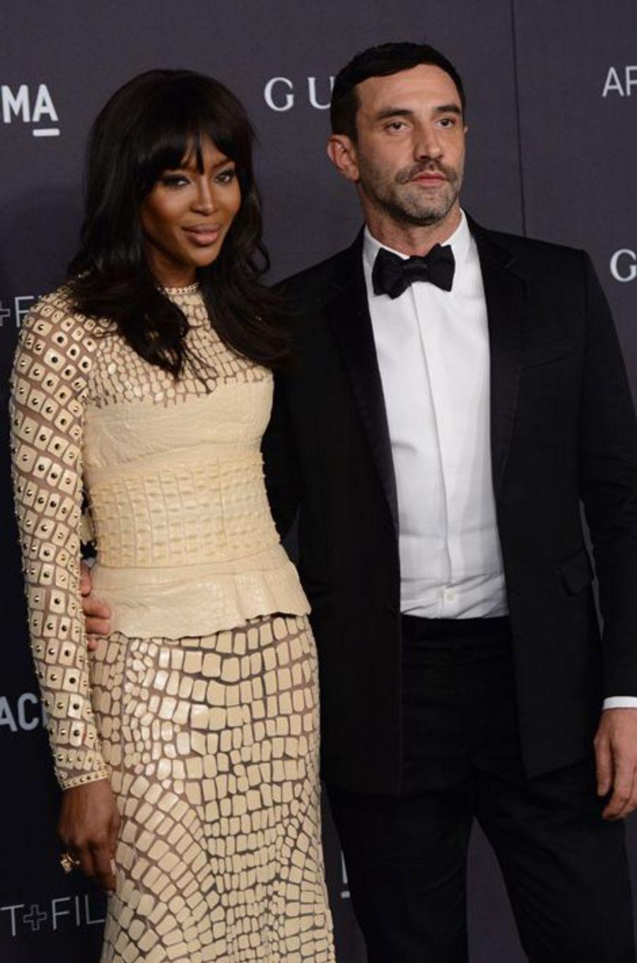 Naomi Campbell et Riccardo Tisci