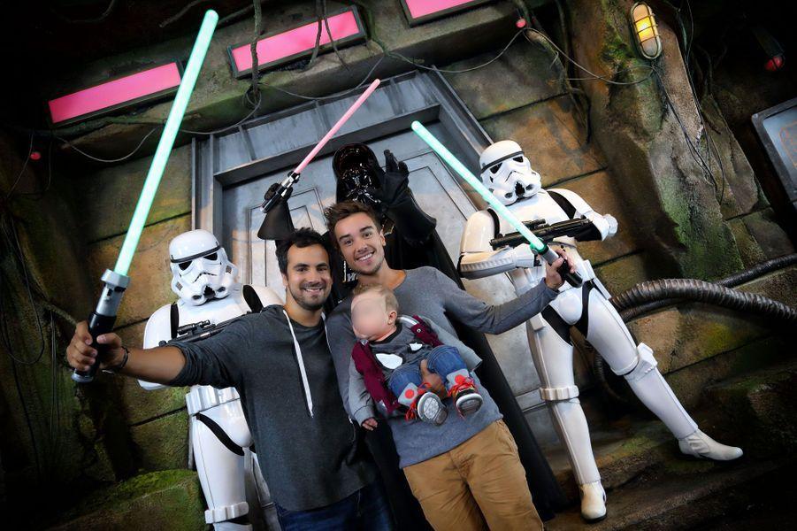 Alex Goude à Disneyland Paris pour la rentrée Star Wars