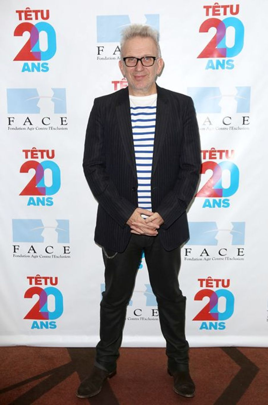 Jean-Paul Gaultier à Paris le 18 mai 2015