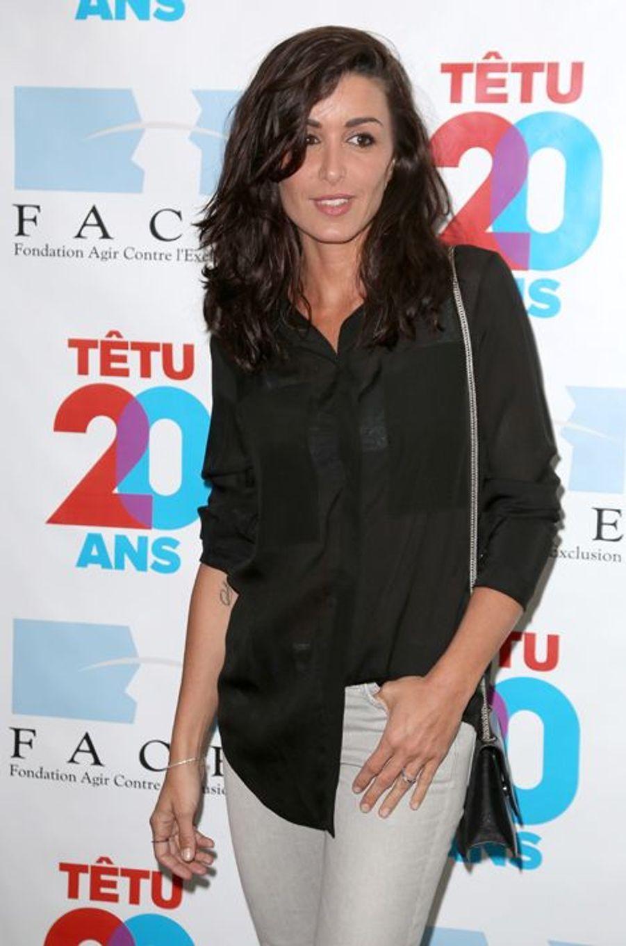 Jenifer à Paris le 18 mai 2015