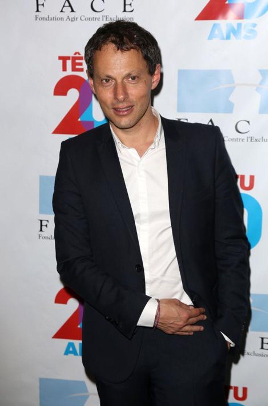 Marc-Olivier Fogiel à Paris le 18 mai 2015