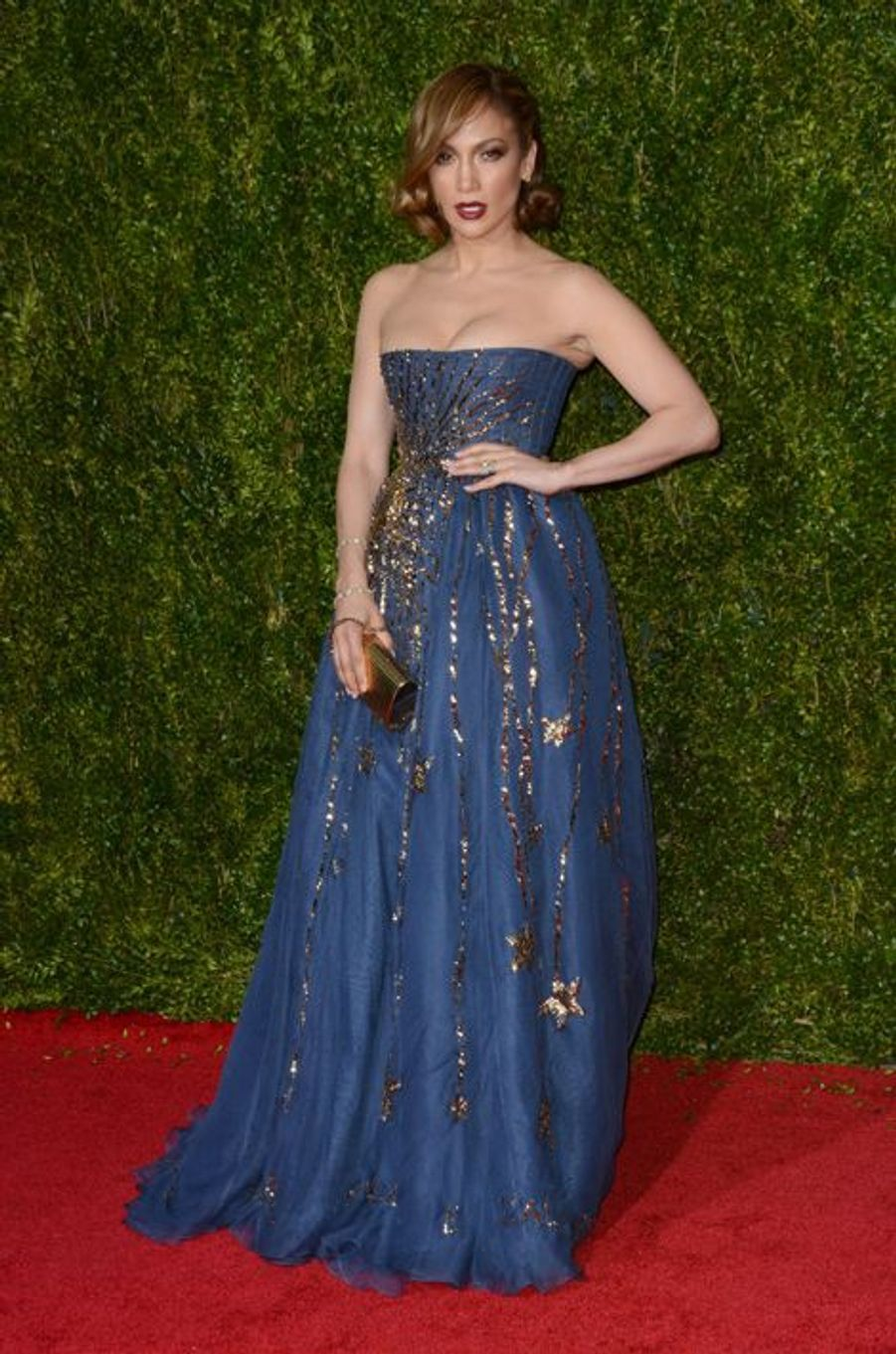 Jennifer Lopez en Valentino Couture
