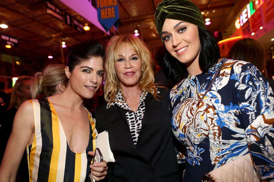Selma Blair, Melanie Griffith et Katy Perry