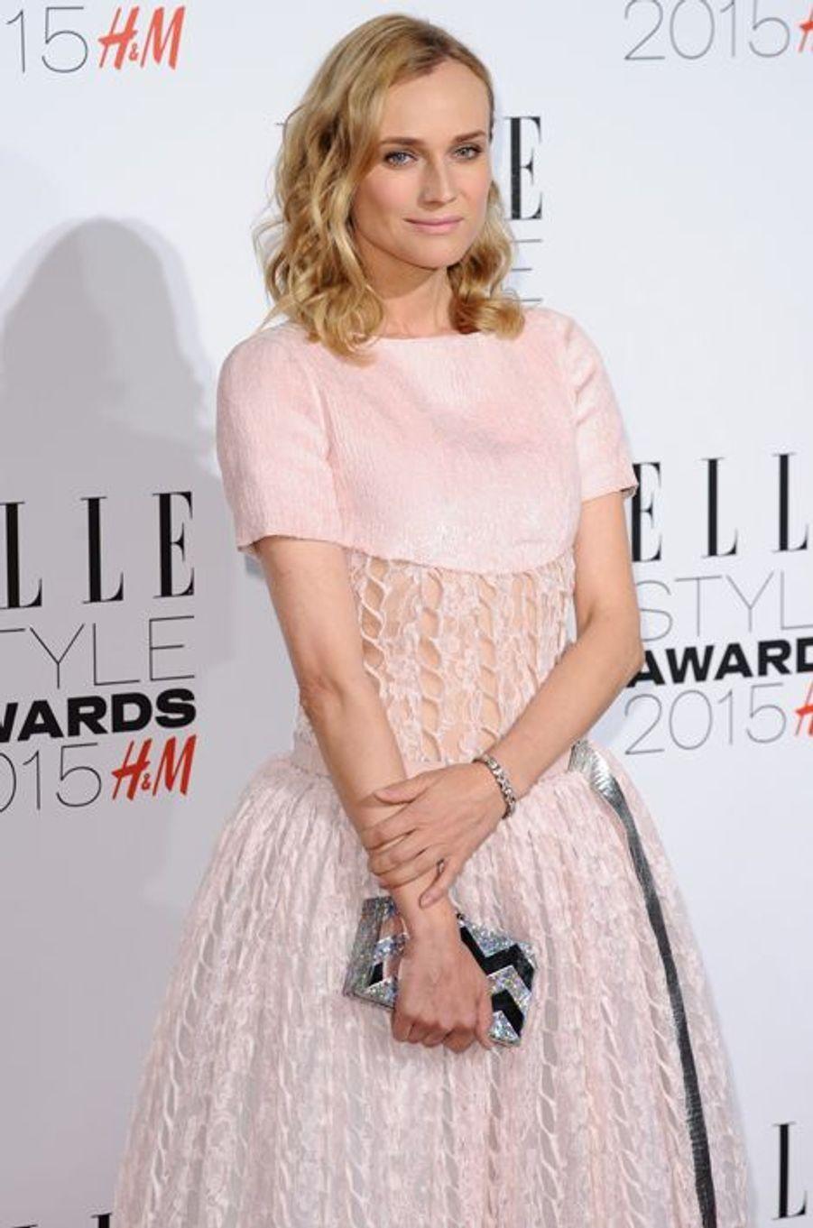Diane Kruger à Londres le 24 février 2015