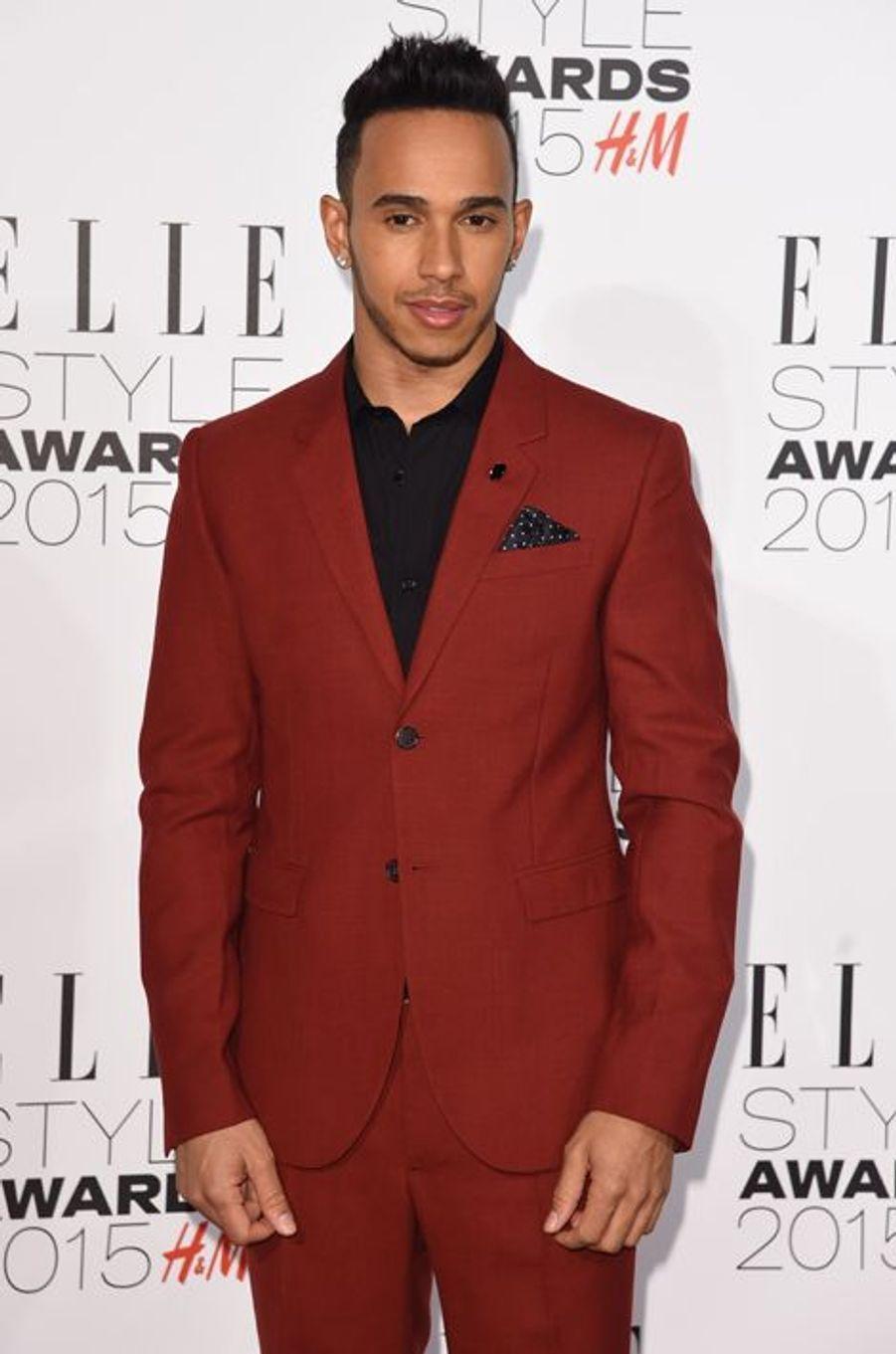 Lewis Hamilton à Londres le 24 février 2015