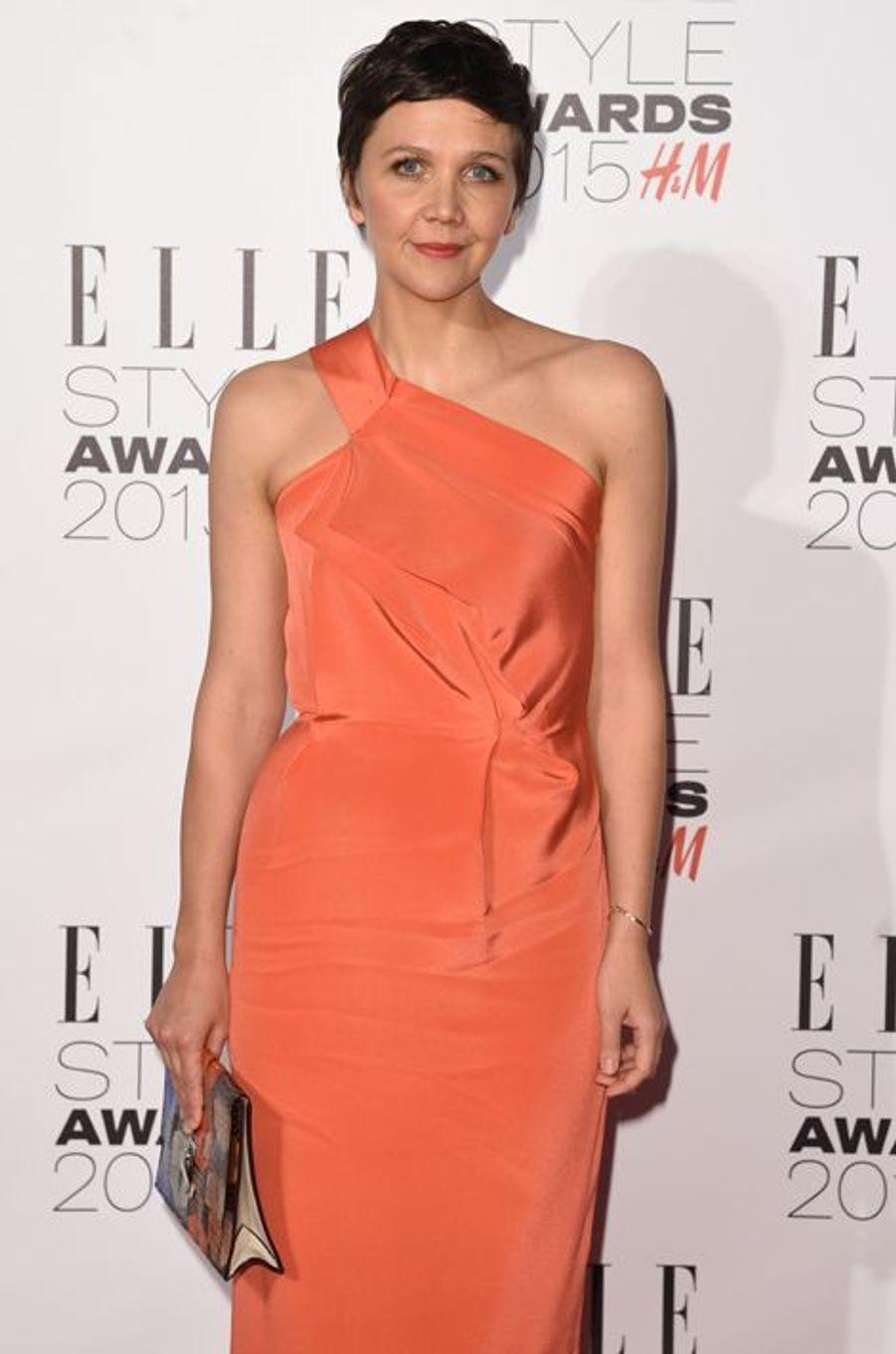 Maggie Gyllenhaal à Londres le 24 février 2015
