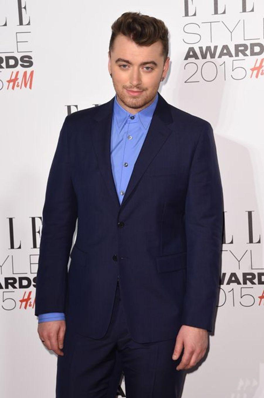 Sam Smith à Londres le 24 février 2015