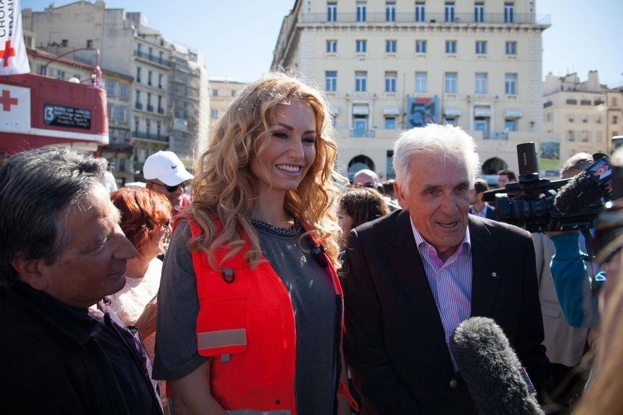 Adriana Karembeu à Marseille le 16 mai 2015