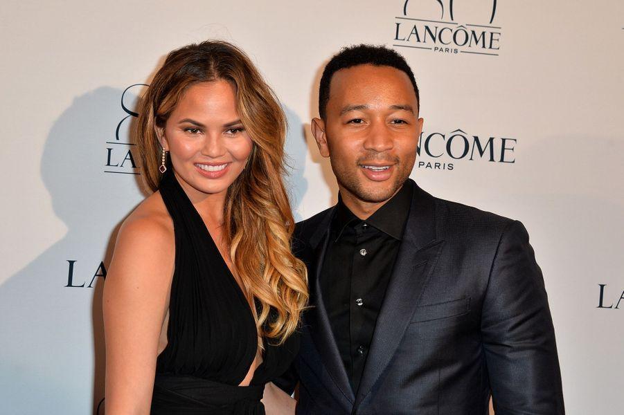 John Legend et sa compagne Chrissy Teigen