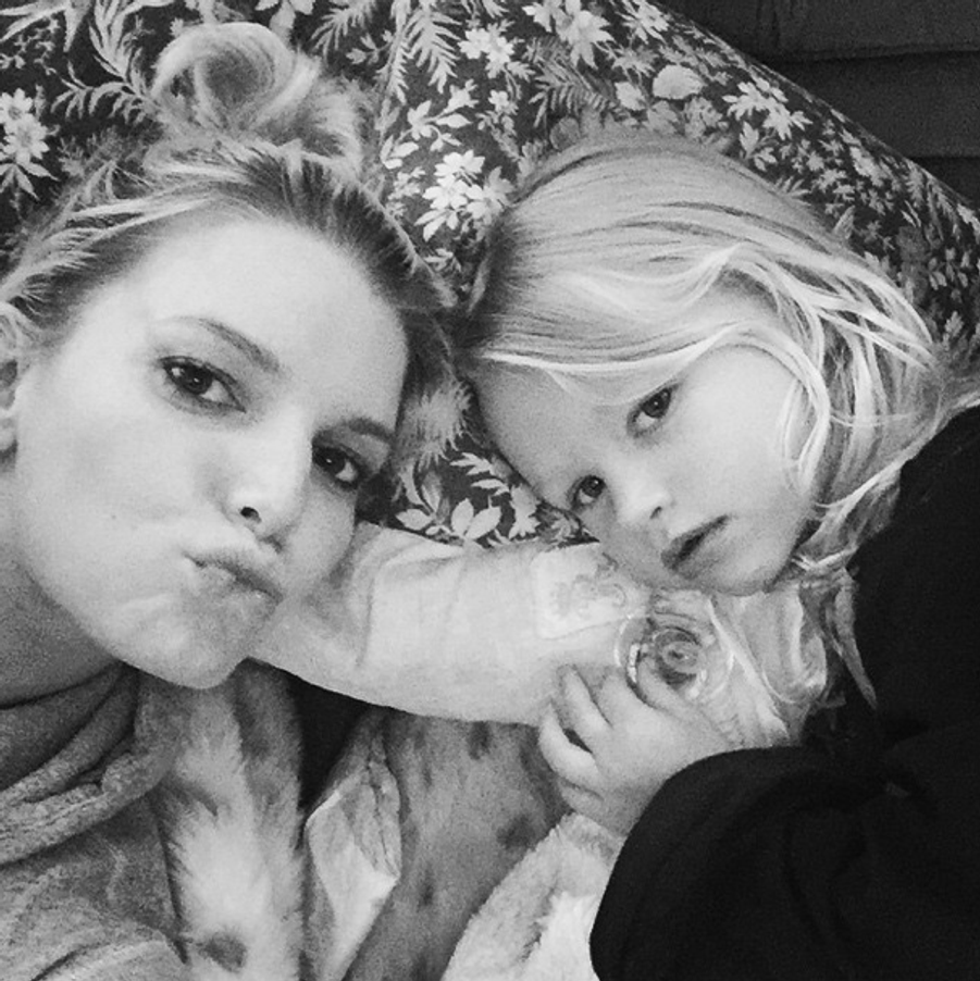 Jessica Simpson et sa fille Maxwell Drew