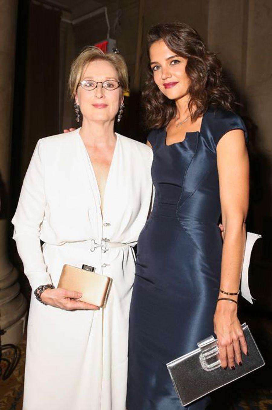 Meryl Streep et Katie Holmes