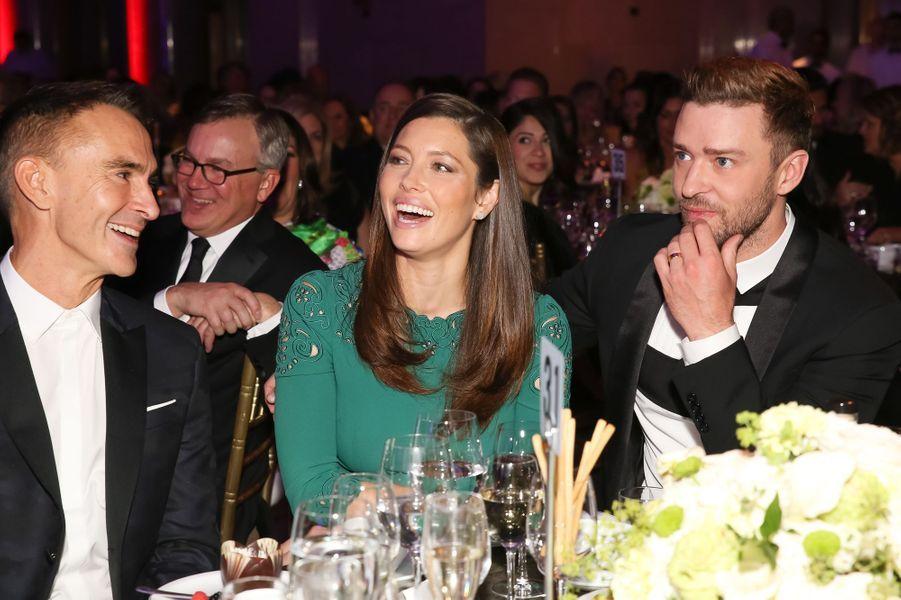Neil Barrett, Jessica Biel et Justin Timberlake