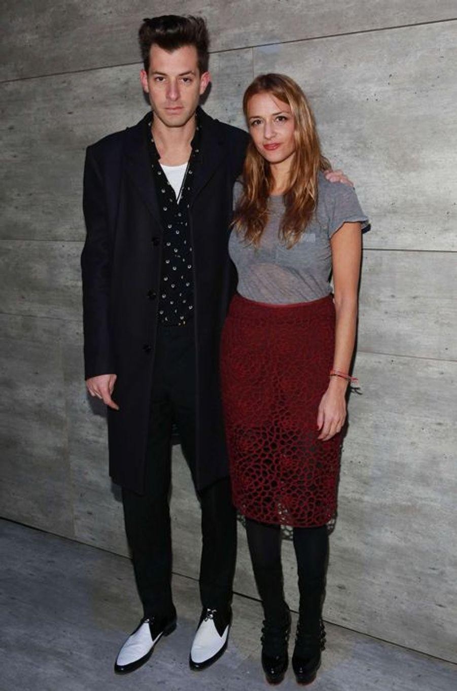Mark et Charlotte Ronson à New York le 13 février 2015