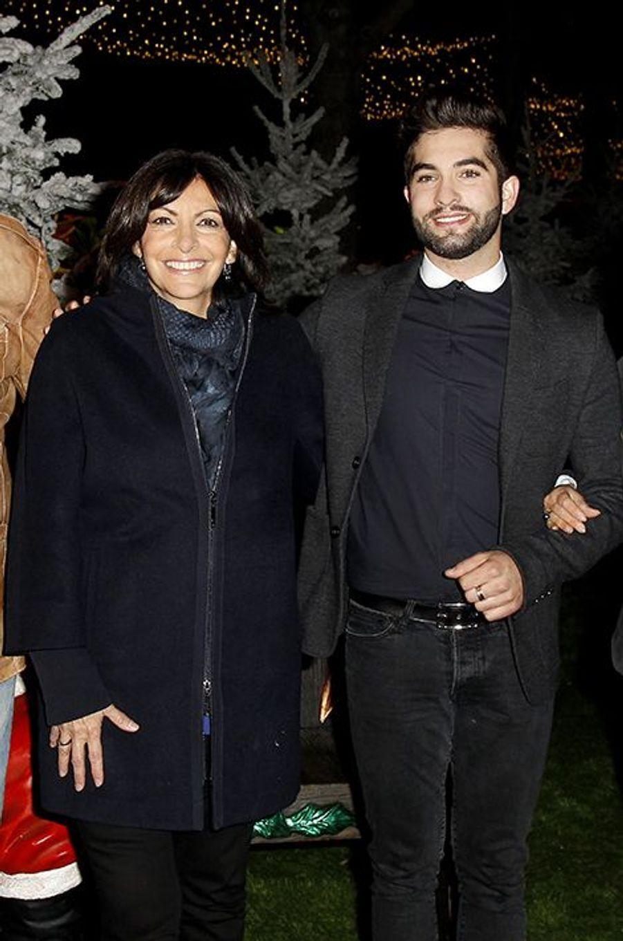 Anne Hidalgo et Kendji Girac