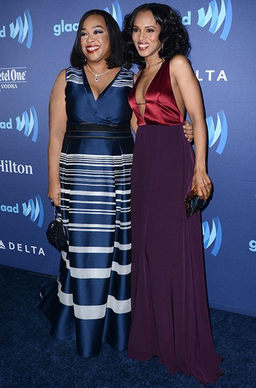 Shonda Rhimes et Kerry Washington