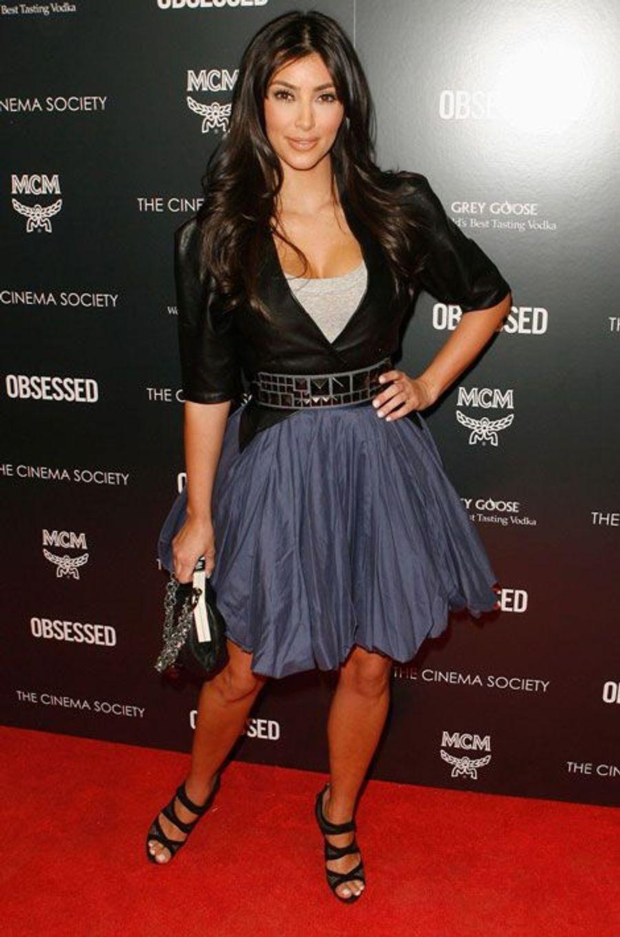 A la première du film «Obsessed», en 2009