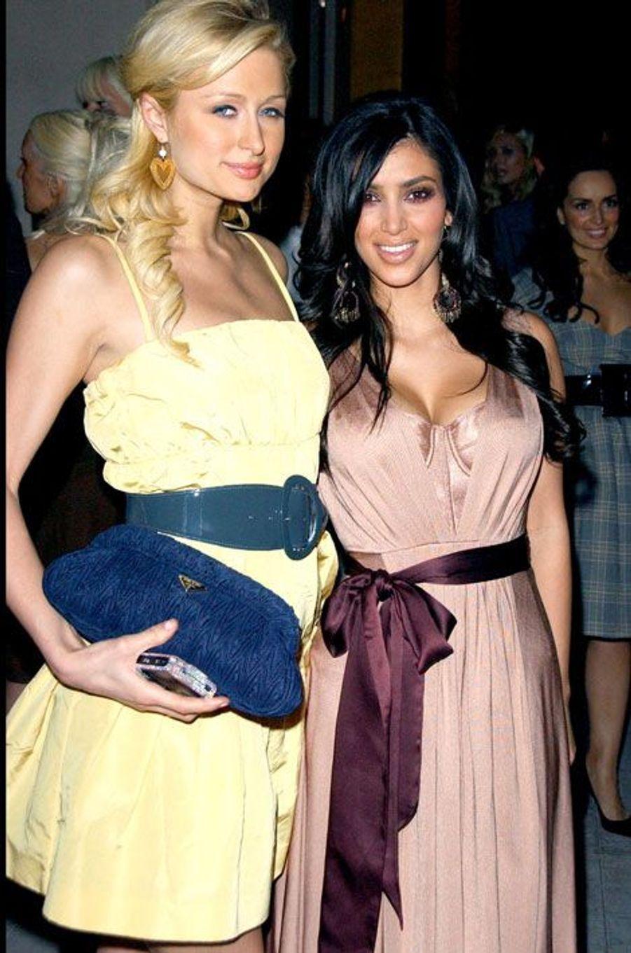Avec Paris Hilton à Beverly Hills en 2006
