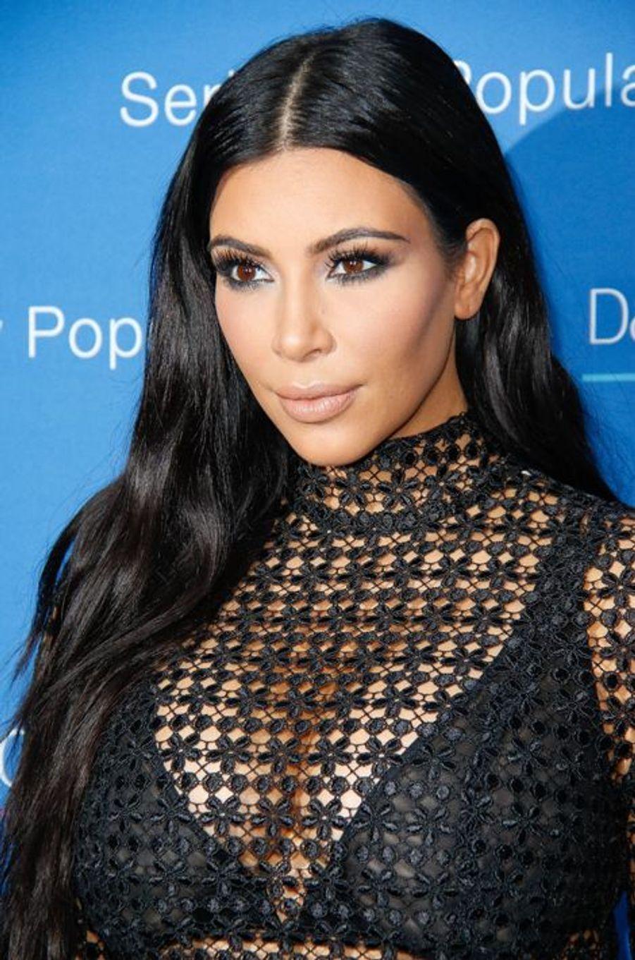 Kim Kardashian à Cannes le 24 juin 2015