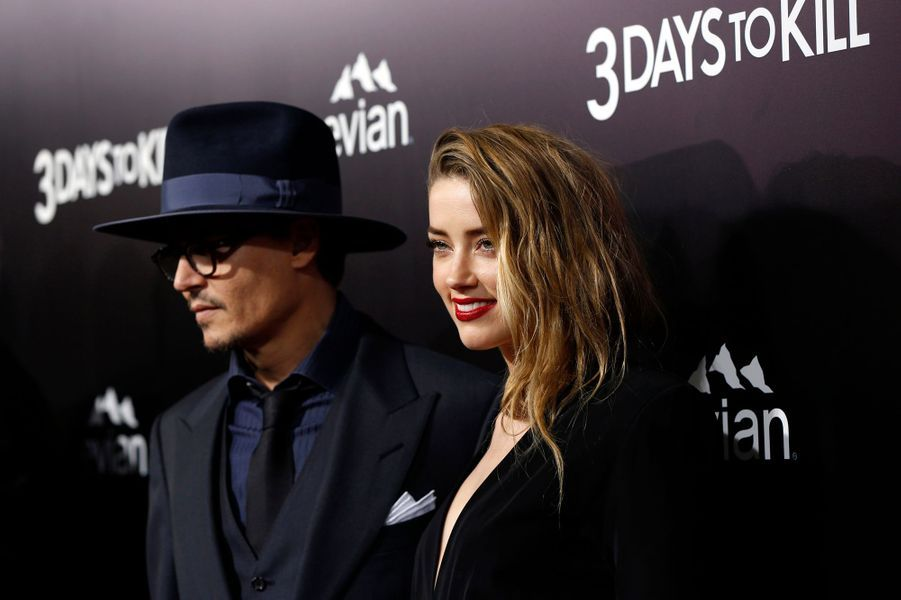 Johnny Depp et Amber Heard, 23 ans de différence d'âge