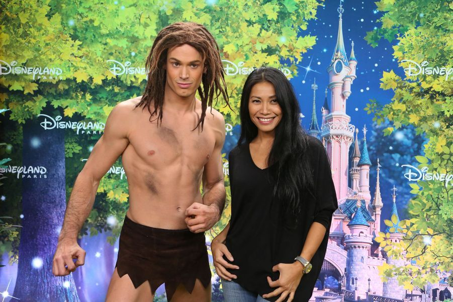 Anggun à Disneyland Paris
