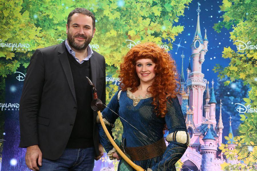 Bruce Toussaint à Disneyland Paris