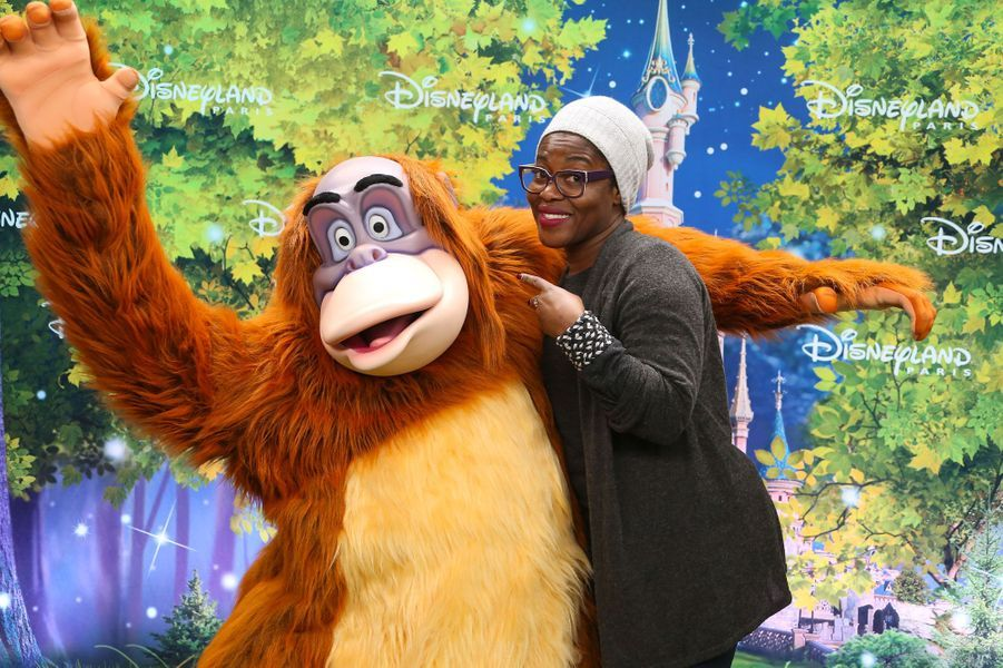 Claudia Tagbo à Disneyland Paris