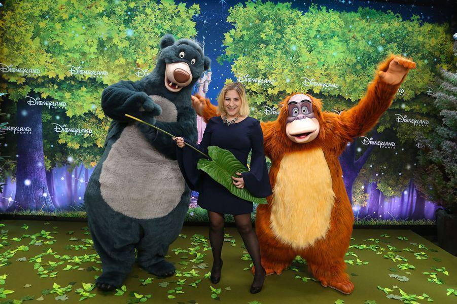 Marilou Berry à Disneyland Paris