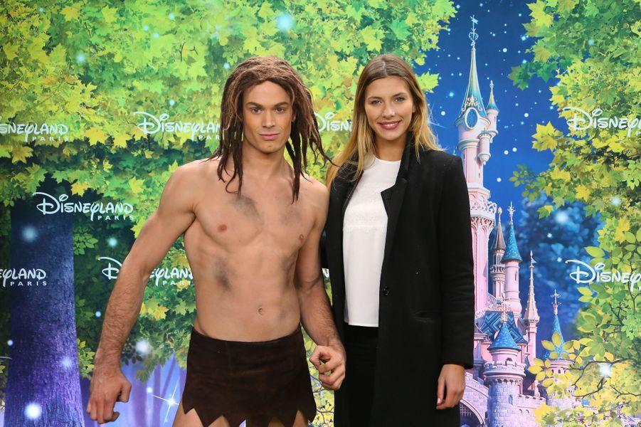 Miss France 2015 Camille Cerf à Disneyland Paris
