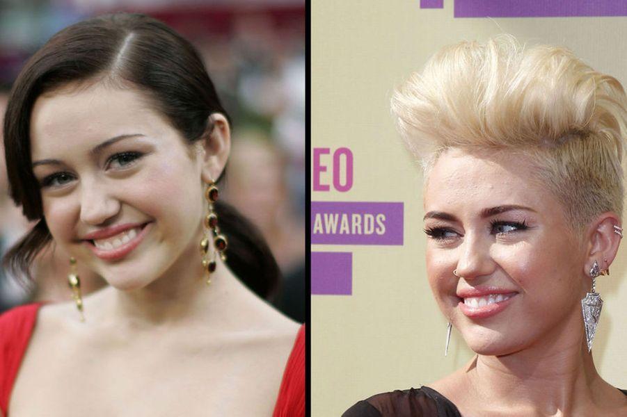 """Miley Cyrus est encore jeune mais elle a déjà connu son lot de scandales. Petite fille chérie de l'Amérique grâce à son rôle dans la série """"Hannah Montana"""",la jeune femme a voulu se débarrasser de son image trop lisse en enchaînant les polémiques. Prise en photo en train de fumer un bang ou en train d'embrasser un gâteau en forme de pénis, la comédienne a récemment provoqué le scandale en effectuant une prestation particulièrement provocante lors des MTV Video Music Awards."""
