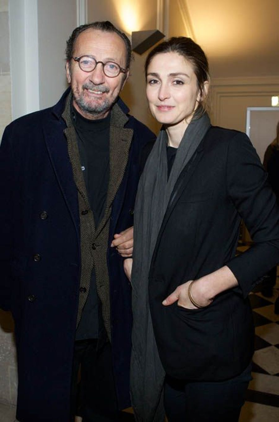 Paolo Roversi et Julie Gayet,