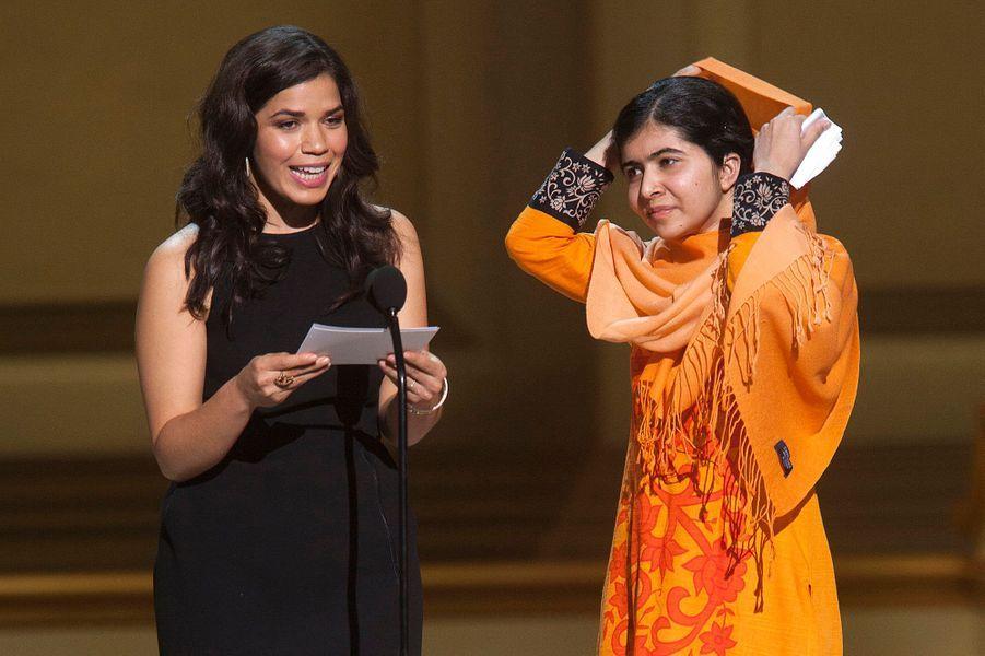 La jeune Malala Yousafzai
