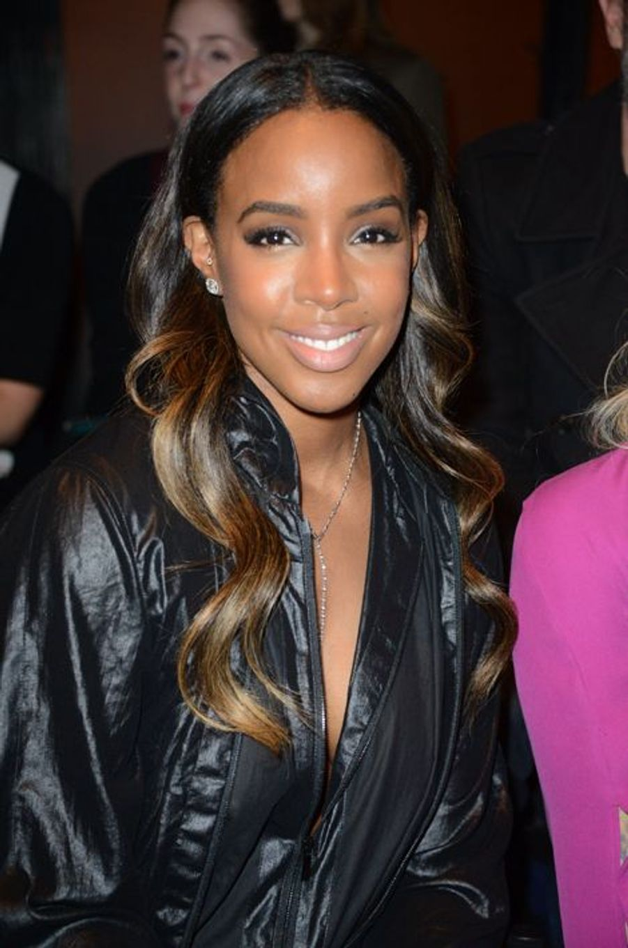 Kelly Rowland au défilé Barbara Bui