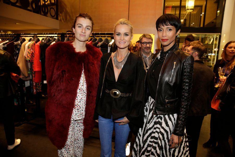 Sonia Sieff, Laeticia Hallyday et Sonia Rolland
