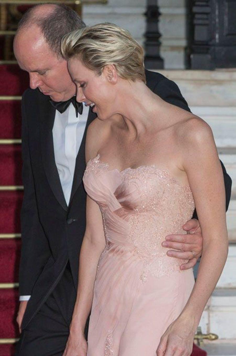 Le bal de l'amour à Monaco